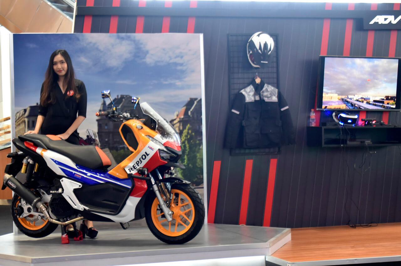 Skutik Premium Honda Kembali Goda Tangerang