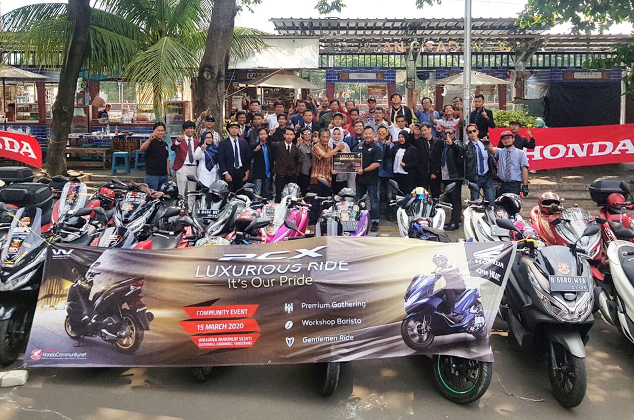 Prihatin Penyebaran Virus, Komunitas Honda Hentikan Gathering Sementara