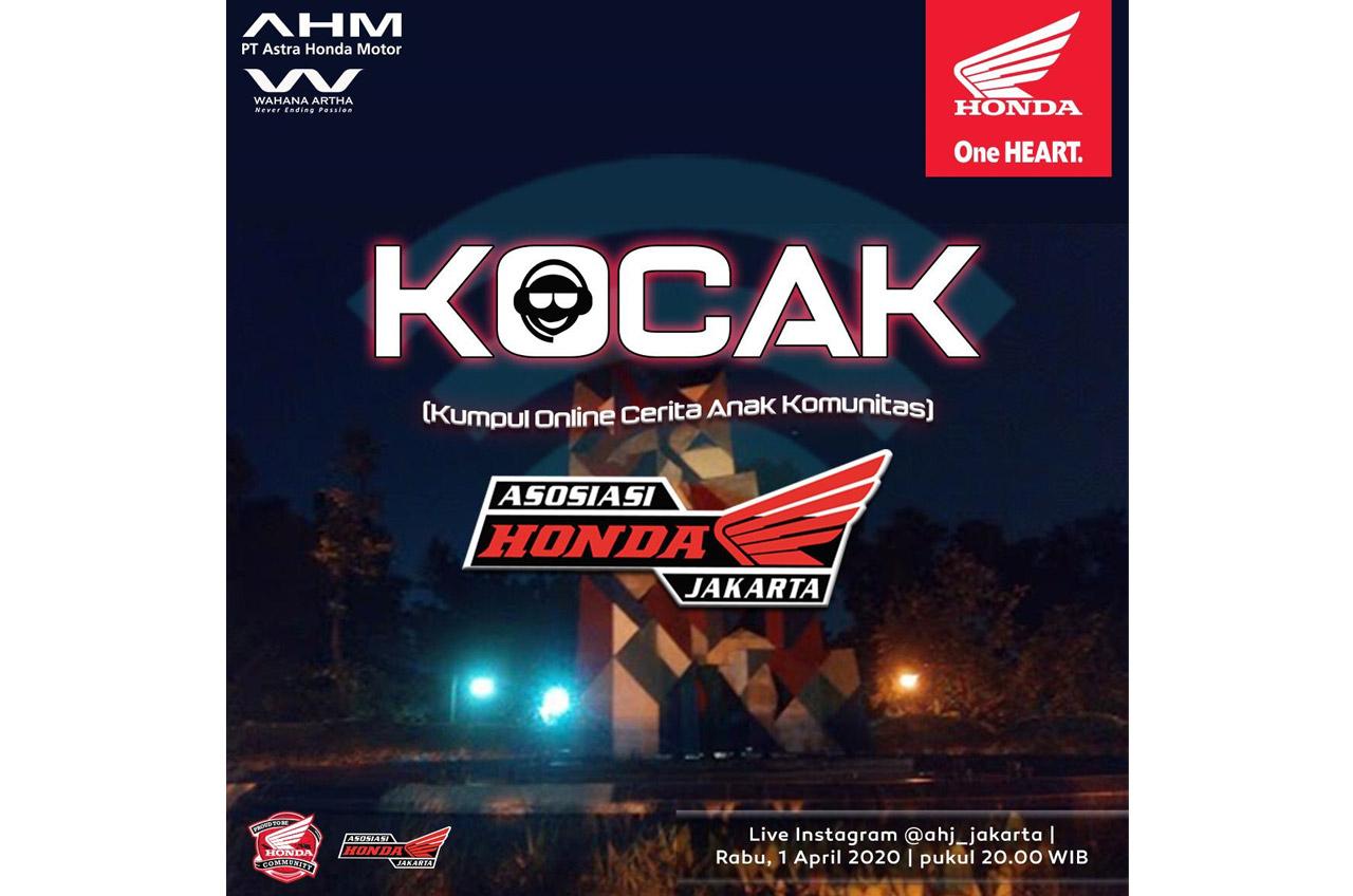 Komunitas Honda Tetap Kopdar Via Jalur Online