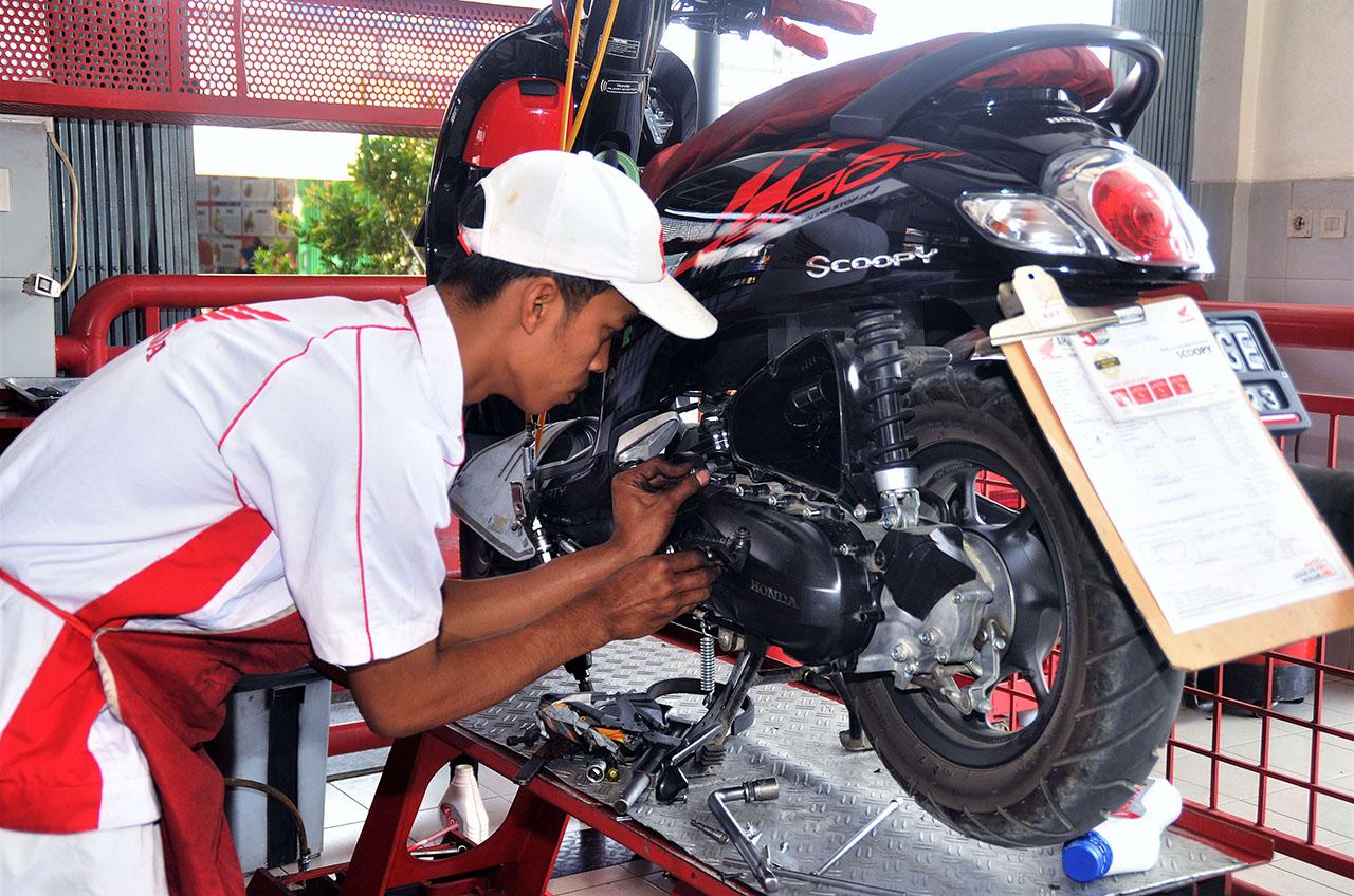 Manfaat Perawatan Sepeda Motor Secara Teratur