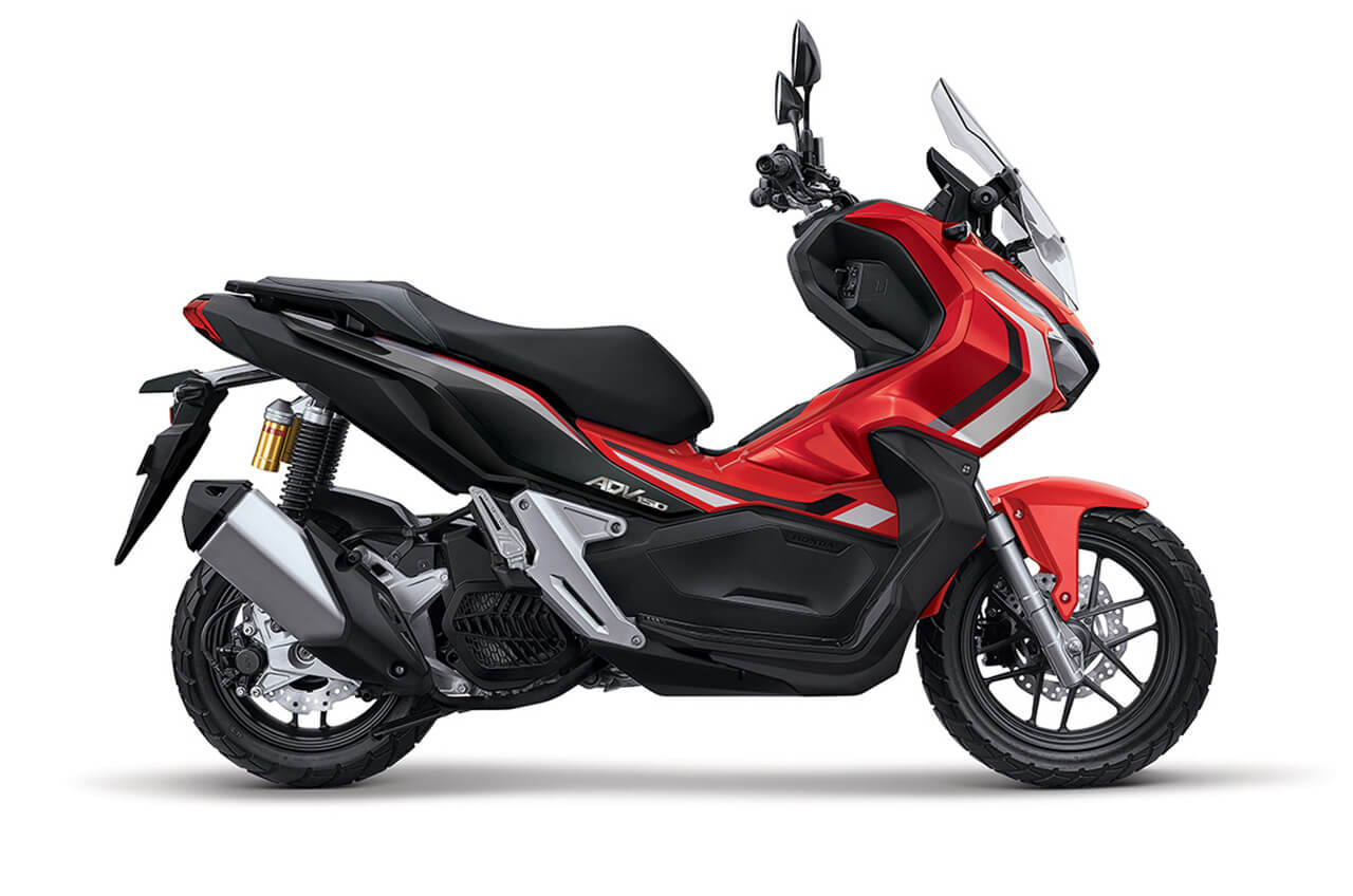 AHM Tambah Varian Warna Baru Skutik Penjelajah Honda ADV150