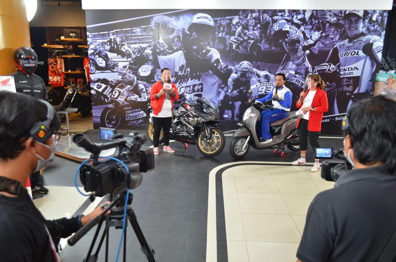 Wahana Explore Virtual Exhibition - Jelajah Virtual Untuk Konsumen Setia Honda