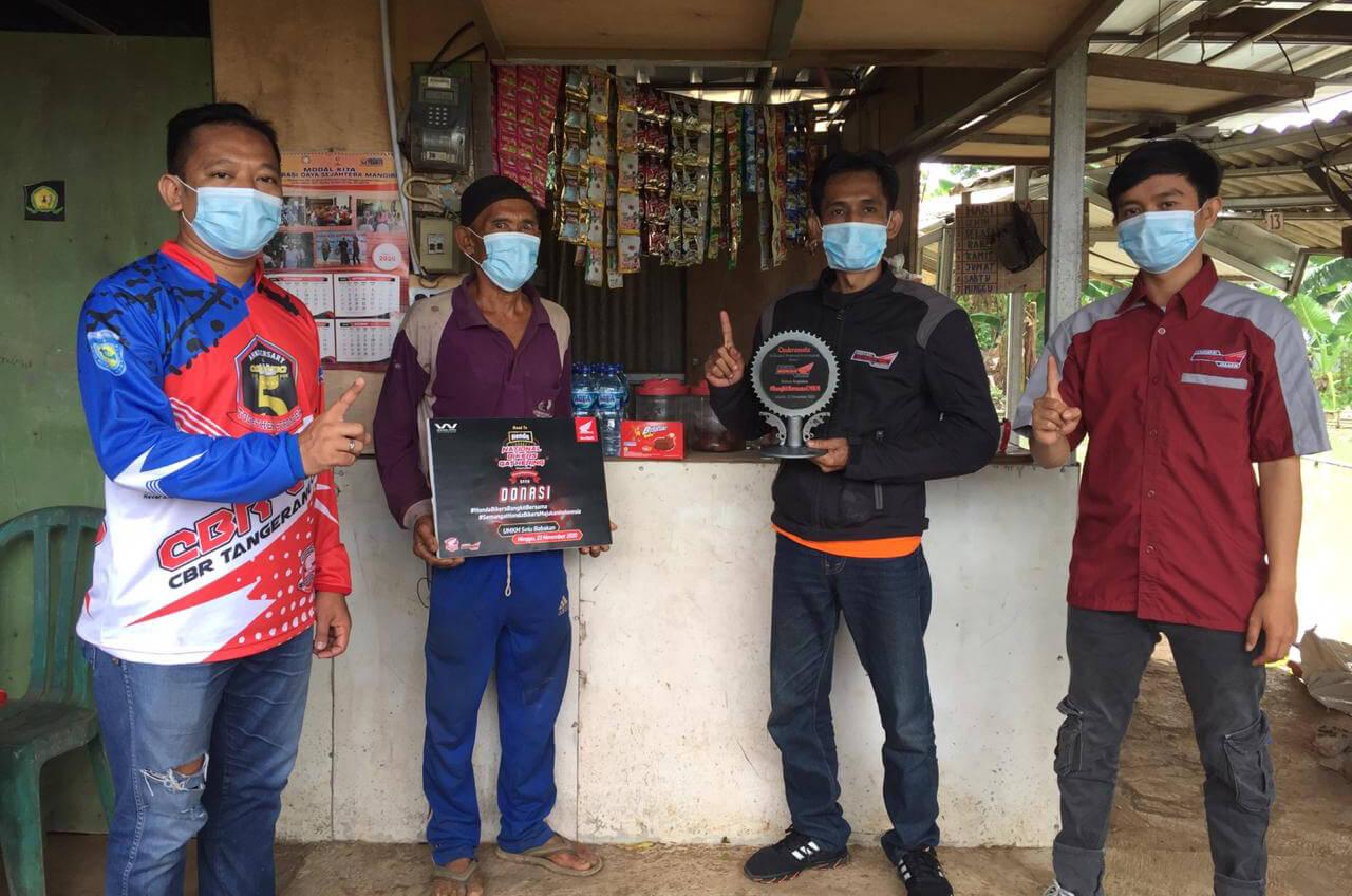 Komunitas Honda, Gelorakan Semangat Bangkit Bersama