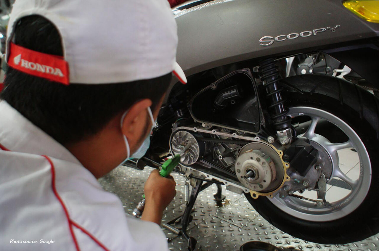 Gejala Kerusakan Komponen CVT Motor Matic