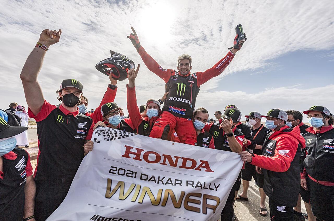 Honda Juara Reli Dakar 2021