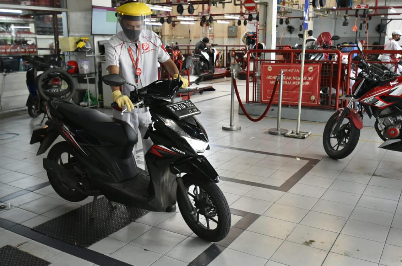 'Cek Dulu Aja Ke AHASS' -  Cek Gratis Honda Demi Konsumen Setia