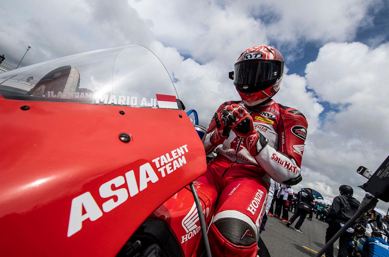 Mario Suryo Aji Jalani Balapan Luar Biasa Dengan Finis Di Posisi Keempat