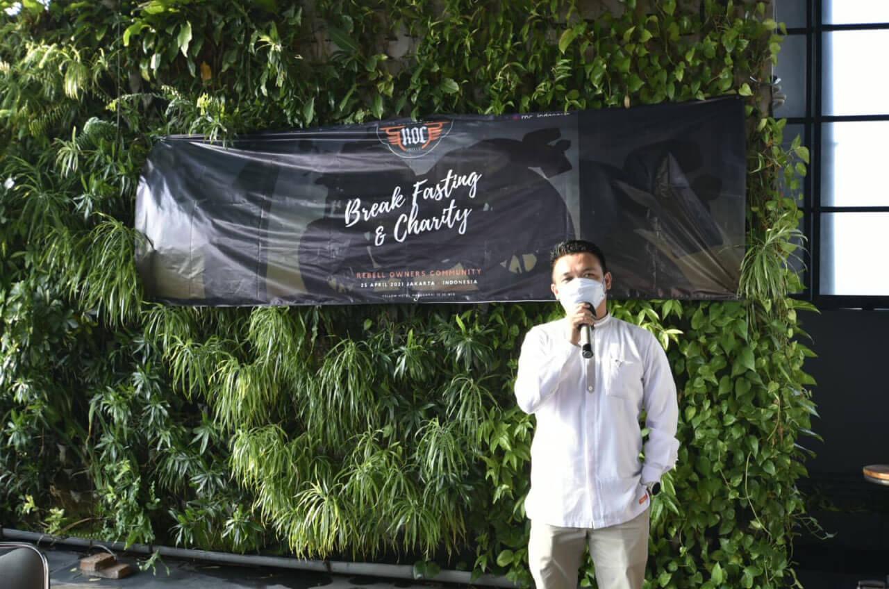 Rebel Owner Commmunity, Bukber Sambil Beramal