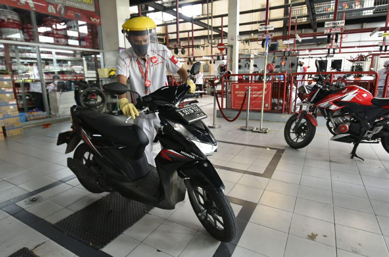 Dilarang Mudik ! Jangan Risau Wahana Siap Manjakan Motor Honda Konsumen.