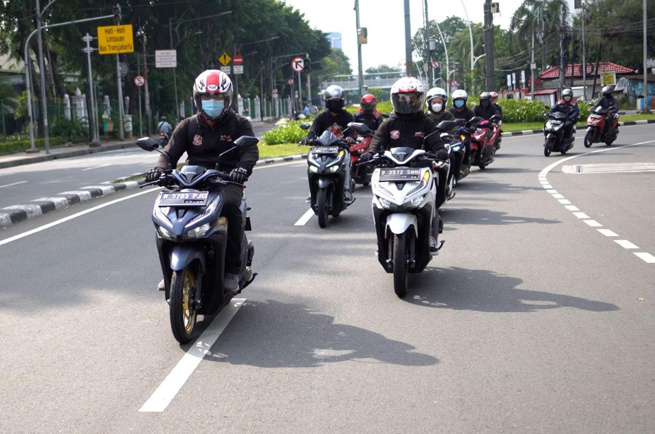 Penghujung Ramadhan, Komunitas Honda Tebar Kebaikan