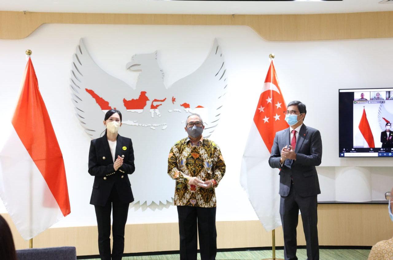 Wahana Gabung Kolaborasi Pengusaha Indonesia Singapura Lawan Covid-19