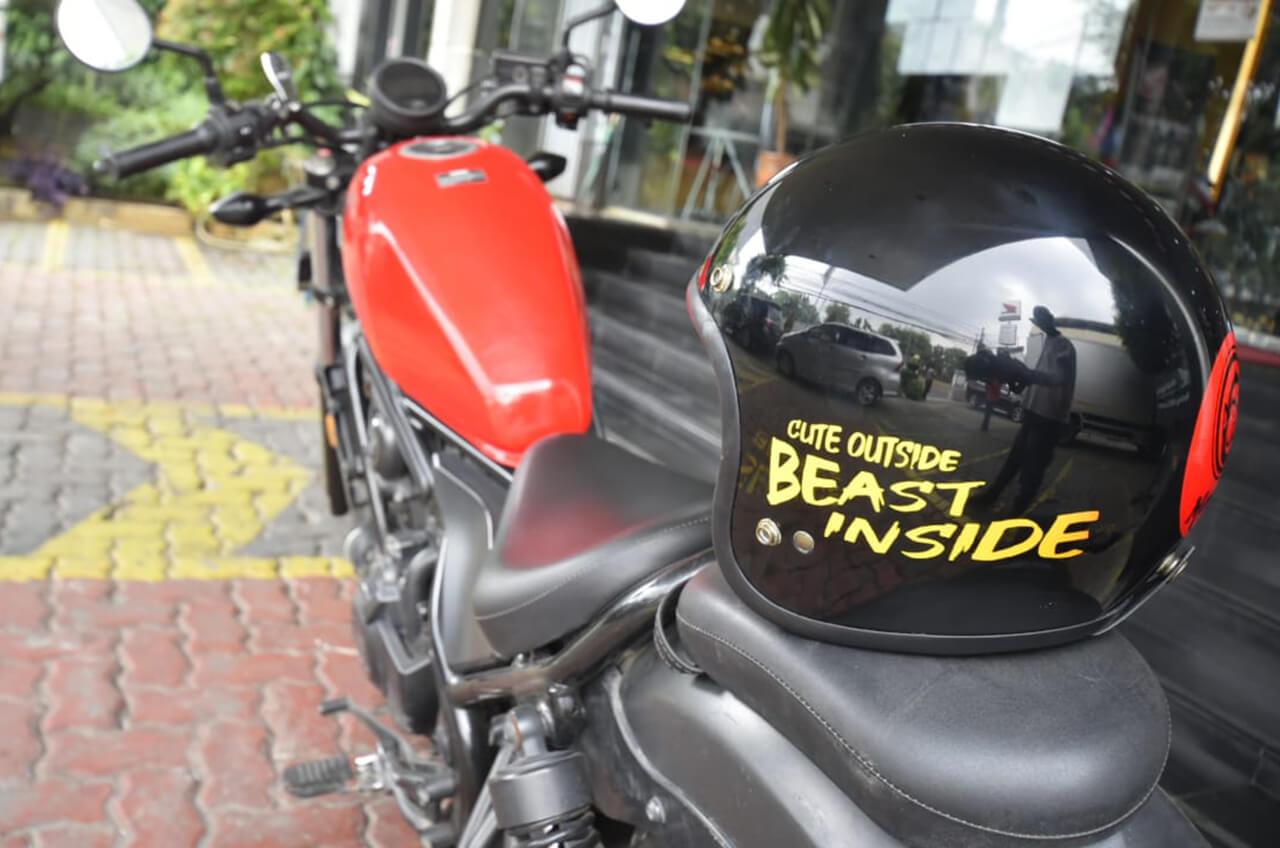 Helm Tepat, Berkendara Makin Nikmat