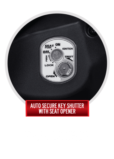 Auto Secure Key Shutter With Seat Opener