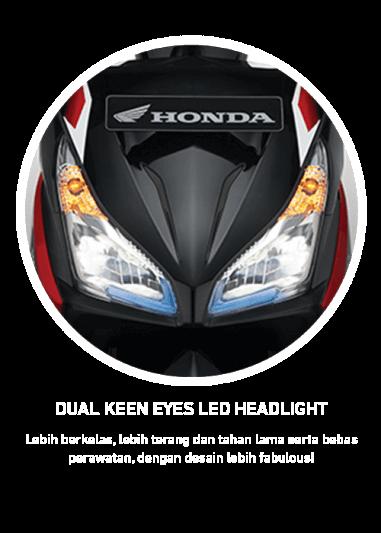 Dual Keen Eyes LED Headlight