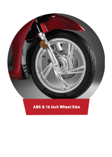 ABS & 16 Wheel Size