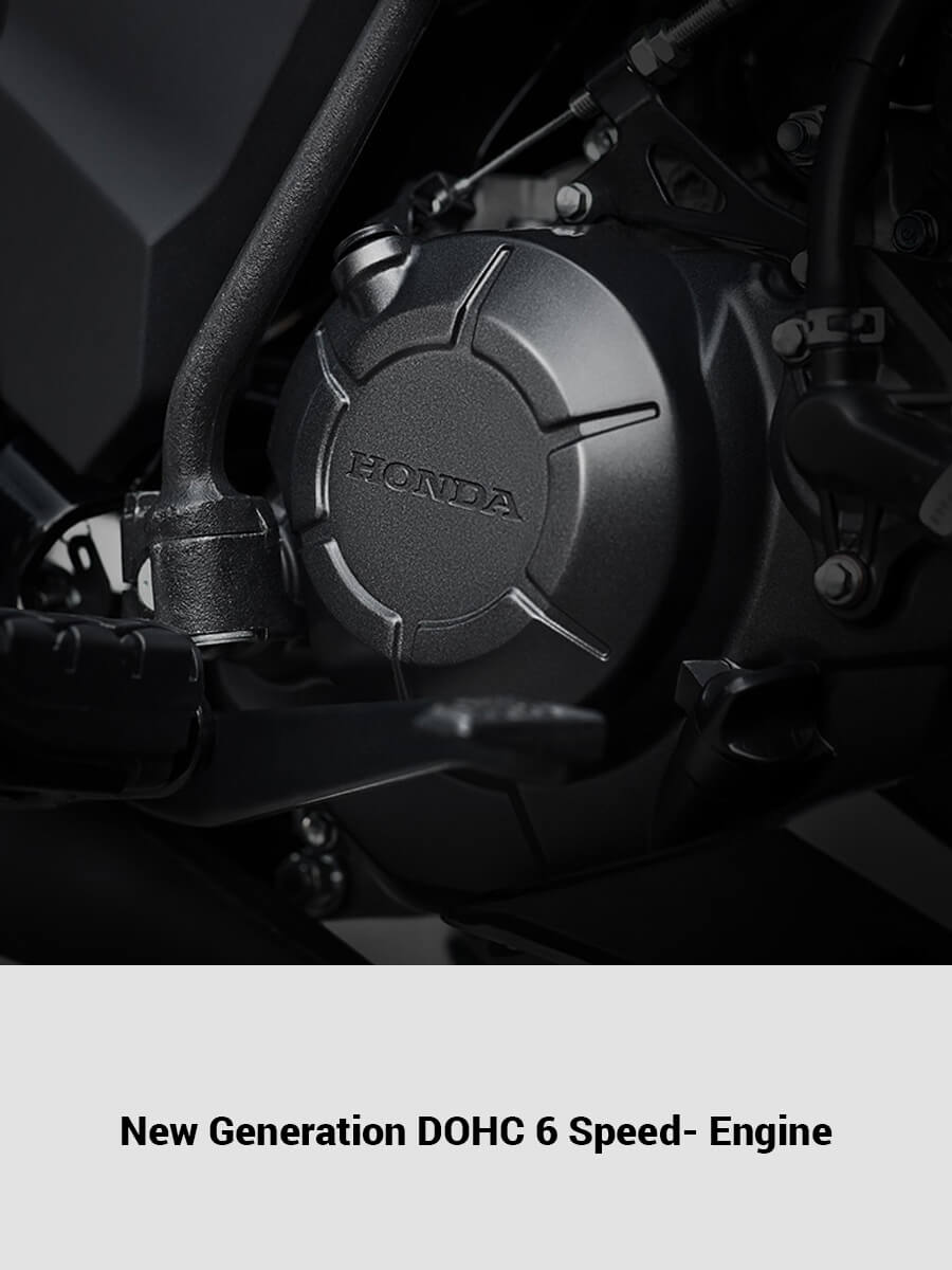 New Generation DOHC 6 Speed- Engine
