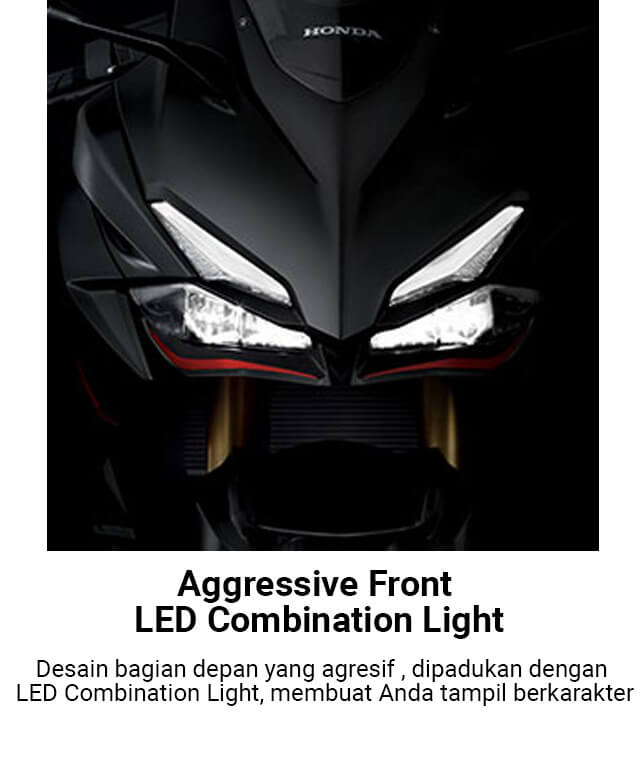 Aggressive Front LED Combination Light