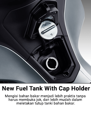 New Fuel Tank With Cap Holder