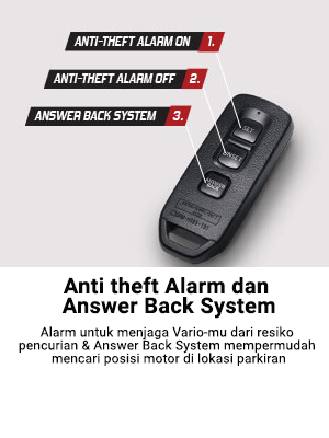 Anti Theft Alarm Dan Answer Back System