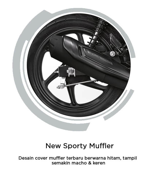 New Sporty Muffler