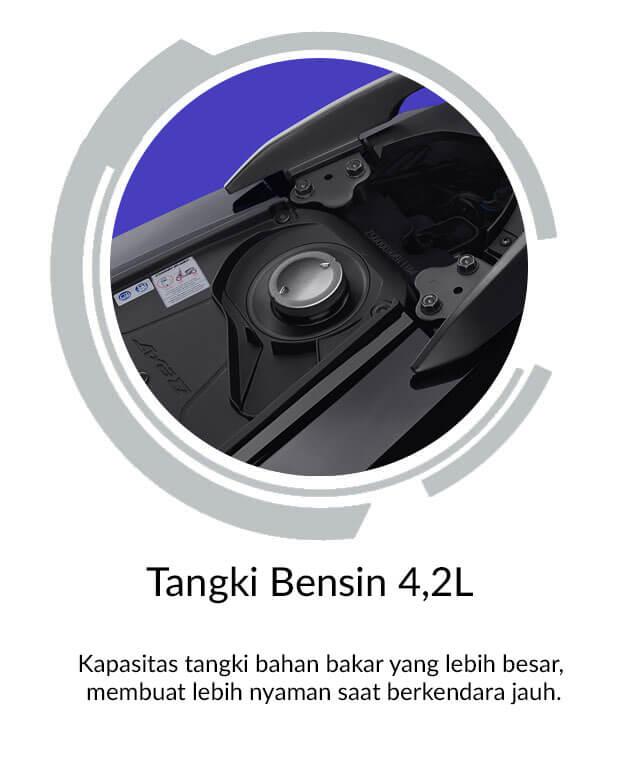 Tangki Bensin 4,2L