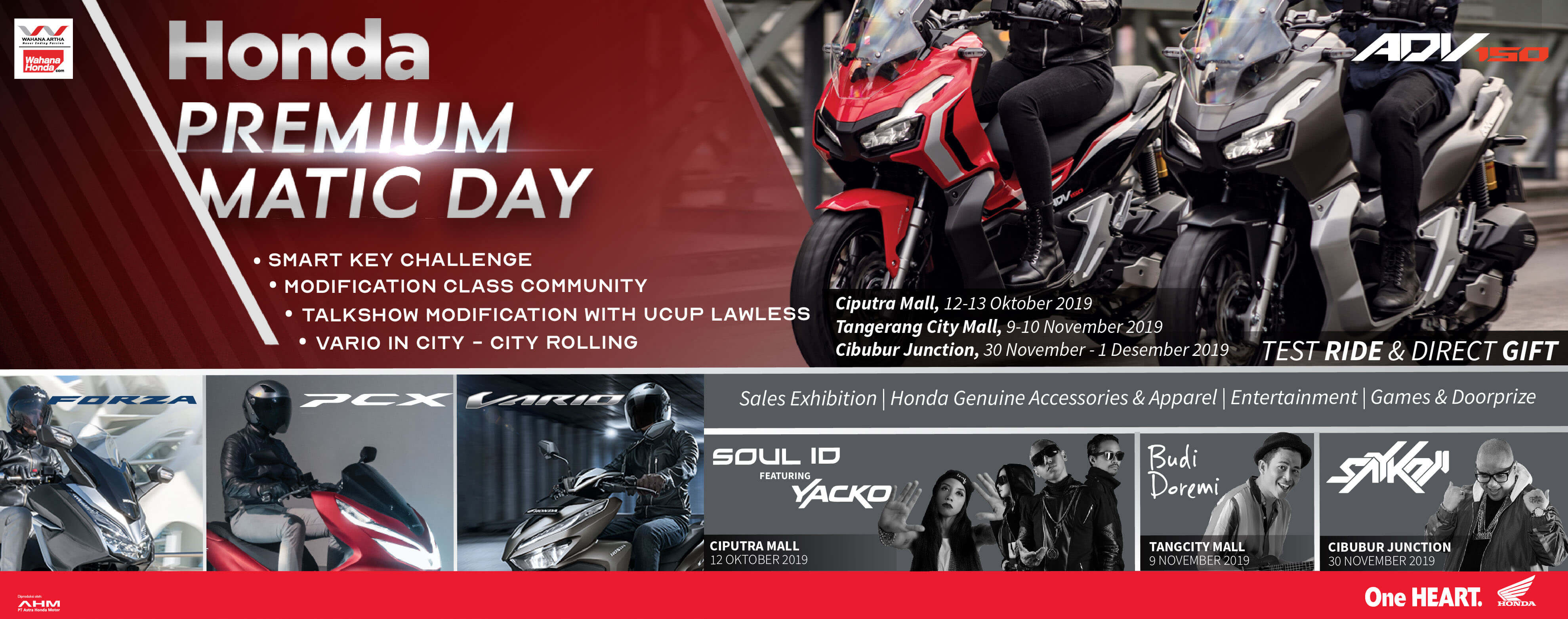 Honda Premium Matic Day 2019