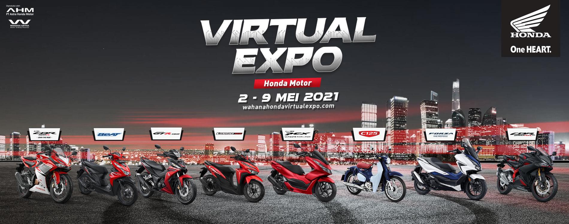 Virtual Expo Honda Motor 2 - 9 Mei 2021