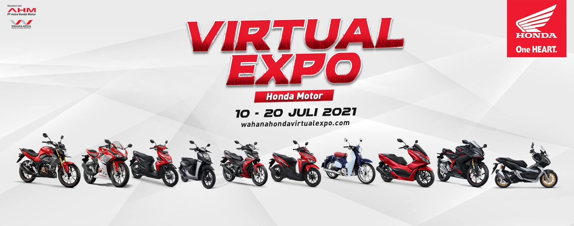 Virtual Expo Honda Motor 10 - 20 Juli 2021