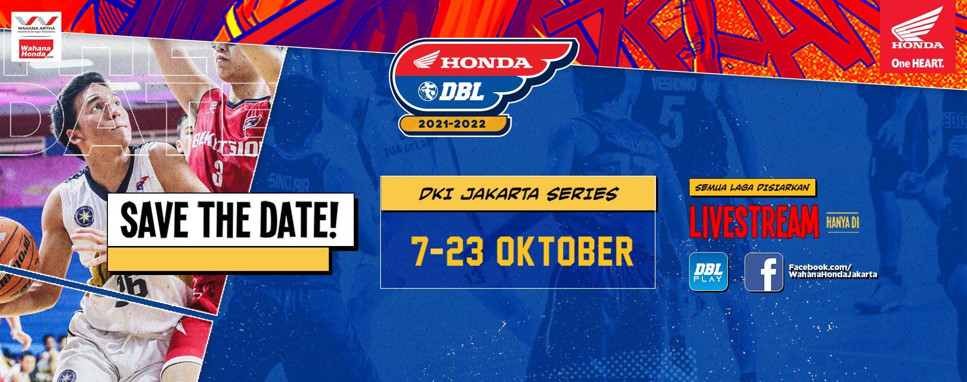 Honda DBL Jakarta Series 2021 - 2022