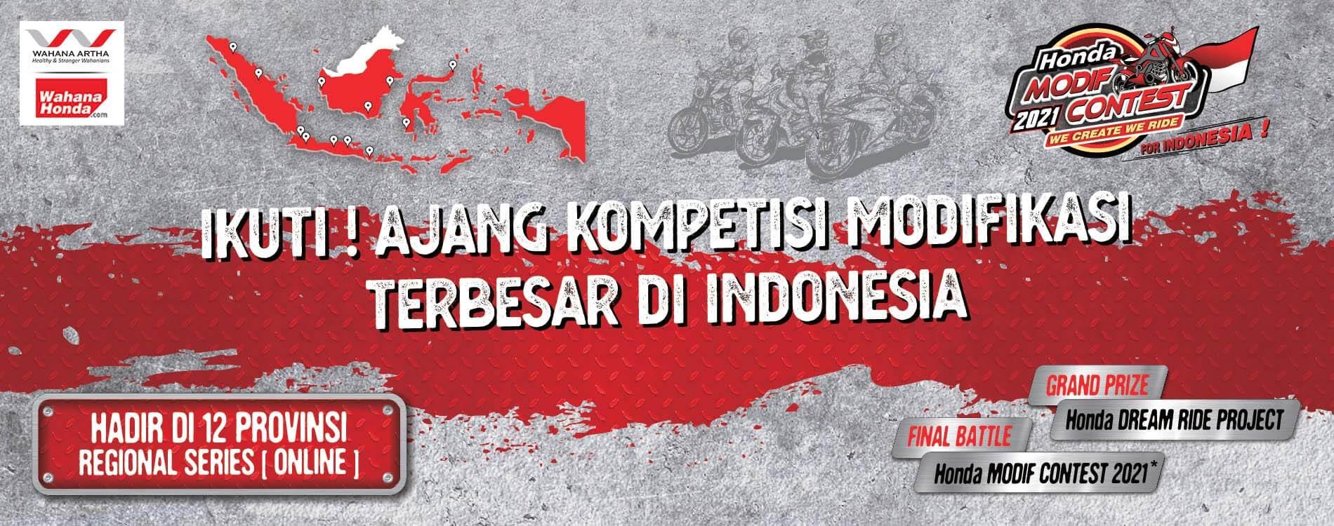 Honda Modif Contest (HMC) 2021