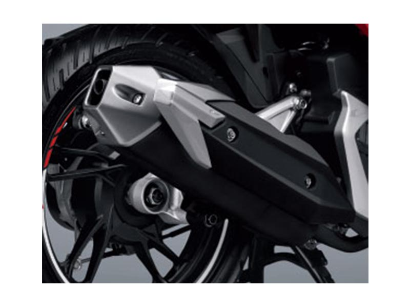 Garnish Cover Muffler - Vario 150 ESP