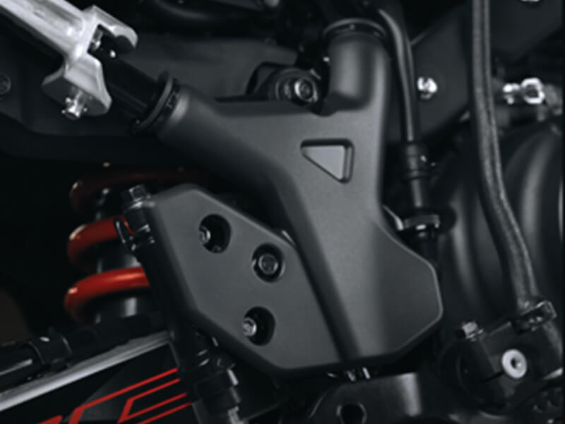 CRF150L - Heel Guard