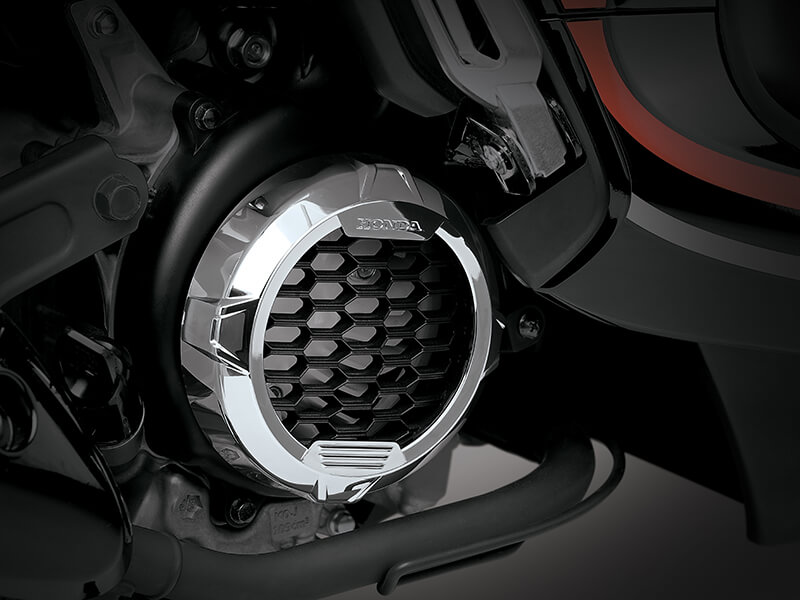 Garnish Fan Cover - Honda Scoopy