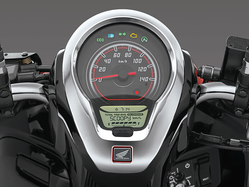 Garnish Panel Meter - Honda Scoopy