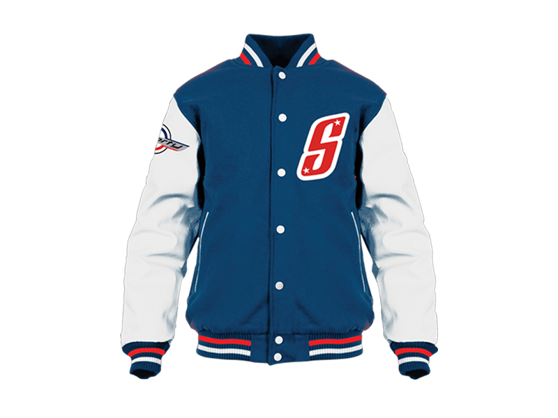 SCOOPY V-JACKET BLUE