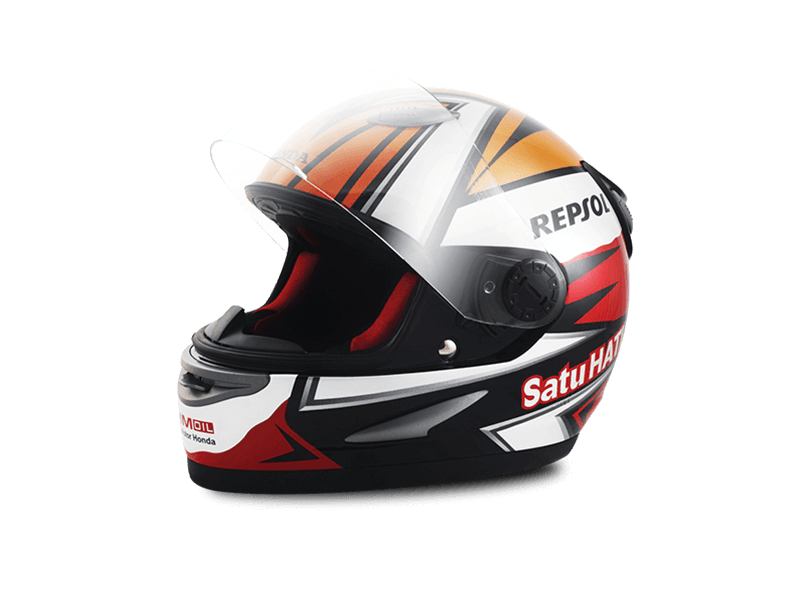 HELM DESIGN REPSOL 1ST EDITION