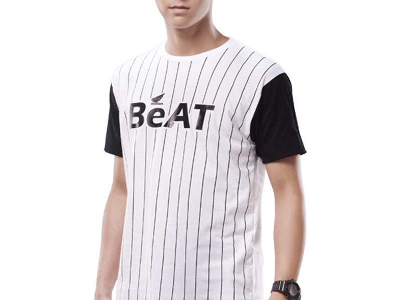 SPORTY BEAT STRIPES TSHIRT