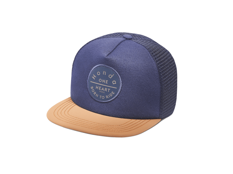 BORN TO RIDE NAVY SNAPBACK