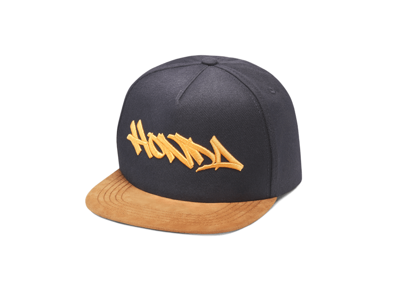 BORN TO RIDE BLACK BROWN SNAPBACK