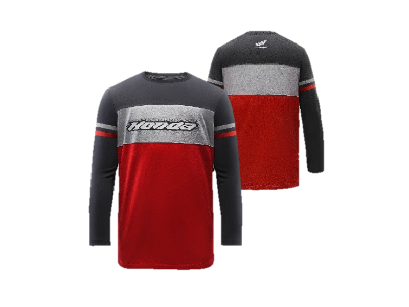 SPORTY LONG SLEEVE T-SHIRT