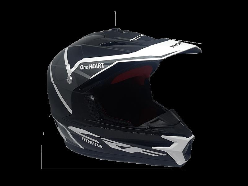 Honda CRF Grey Helmet