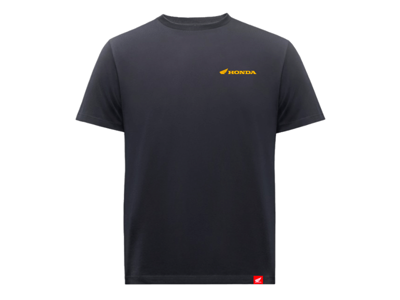 HONDA GOLD BLACK T-SHIRT