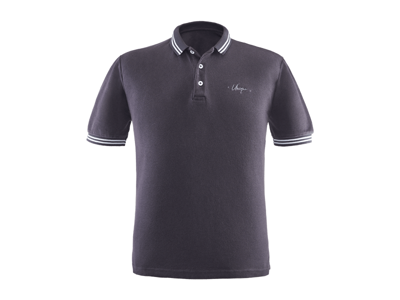 UNIQUE GREY POLOSHIRT