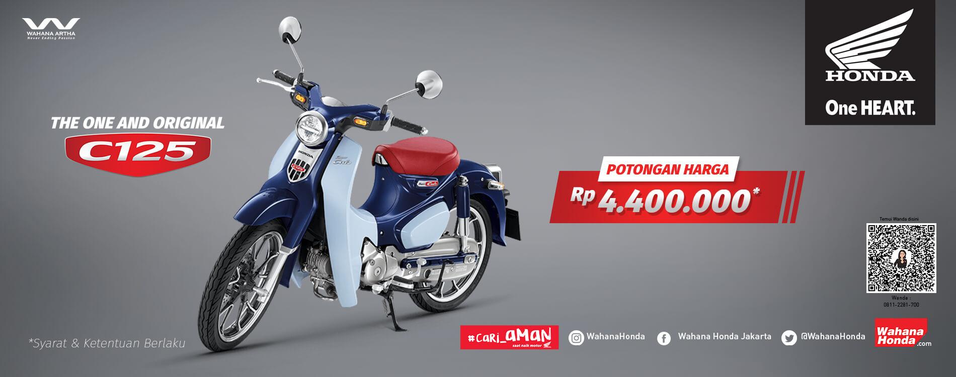 Promo Honda SuperCUB 125 - Periode Mei 2021