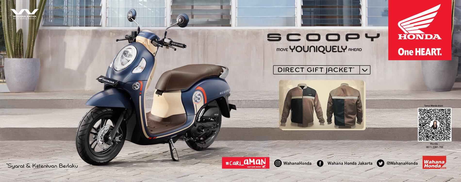 Promo Honda Scoopy - Periode Maret 2021