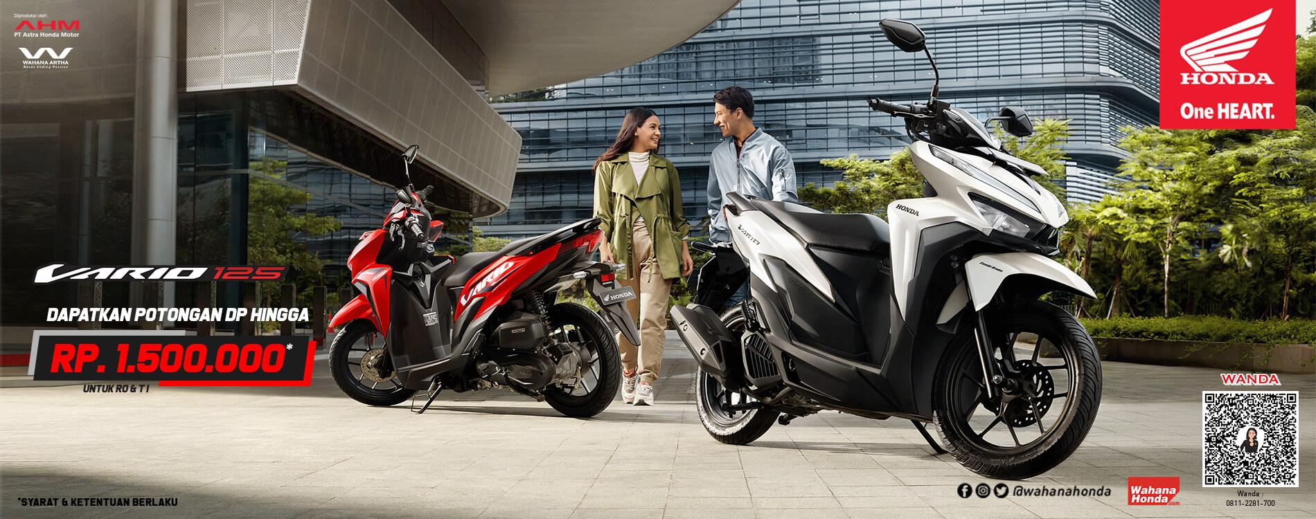 Promo Honda Vario 125 -  Periode Mei 2021