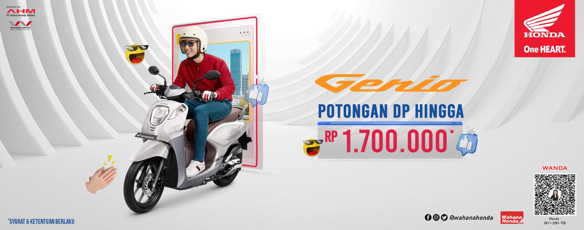 Promo Honda Genio - Periode April 2021