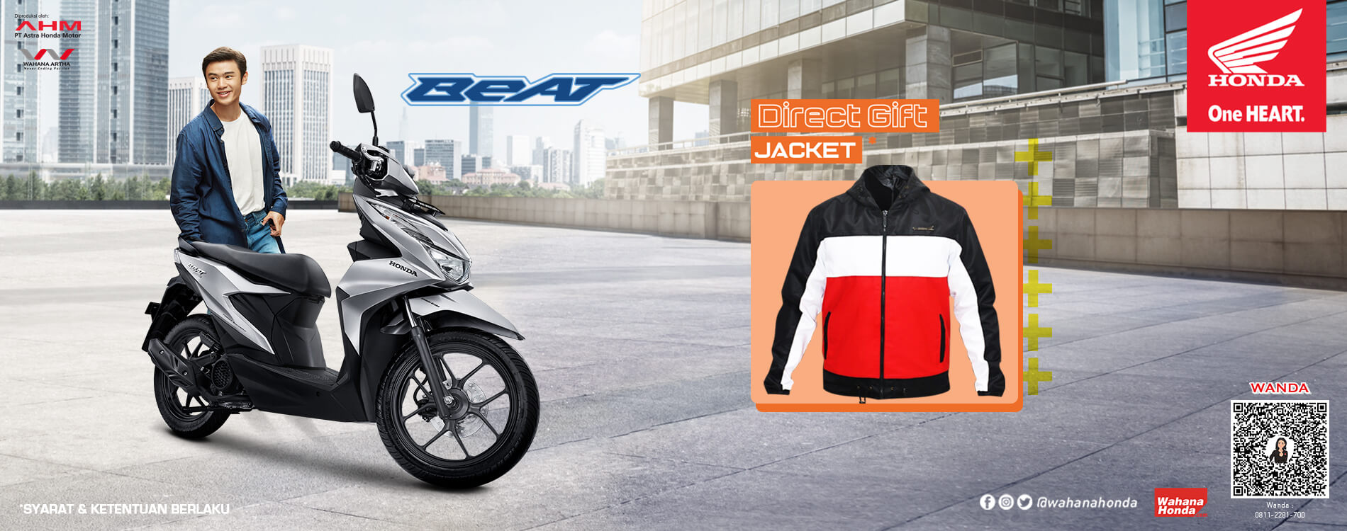 Promo Honda BeAT - Periode April 2021