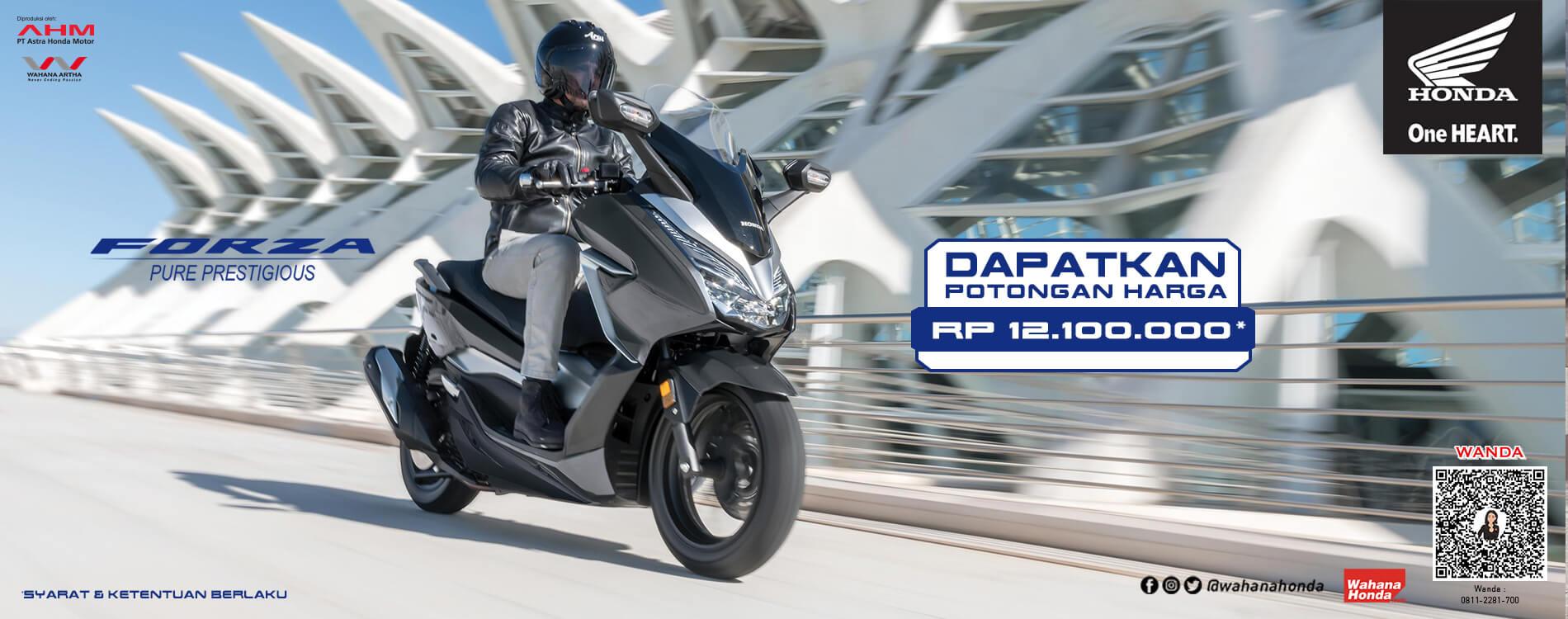 Promo Honda Forza - Periode Mei 2021