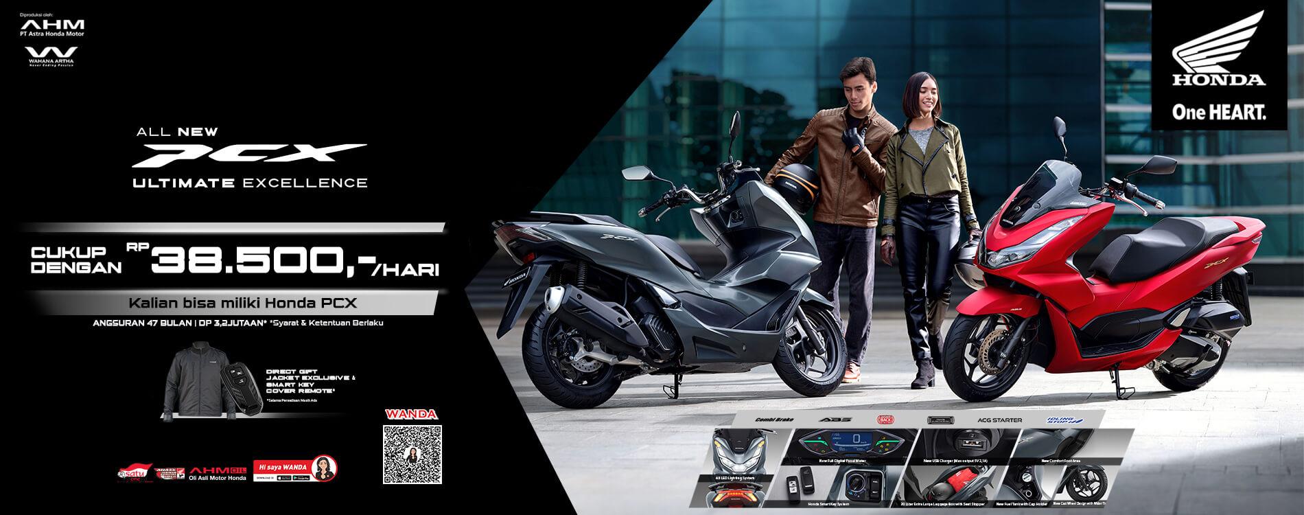 Promo All New Honda PCX 160
